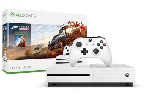 XBOX ONE S, 1TB, bílá + Forza Horizon 4 234-00561 Heureka.cz | Elektronika | Počítače a kancelář | Herní zařízení | Herní konzole