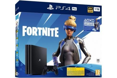 Sony PlayStation 4 Pro 1TB + Fortnite Heureka.cz | Elektronika | Počítače a kancelář | Herní zařízení | Herní konzole