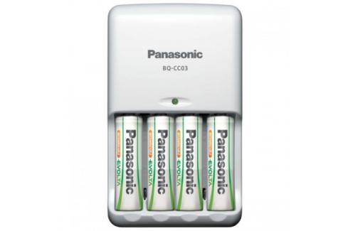 Inteligentní nabíječka Panasonic,K-KJ17 včetně 4xAA 1900mAh Nabíjecí baterie, nabíječky