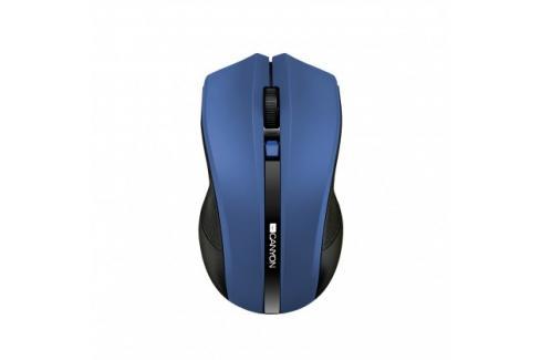 Canyon CNE-CMSW05BL, Wireless optická myš USB,  modrá Heureka.cz | Elektronika | Počítače a kancelář | Klávesnice a myši | Myši