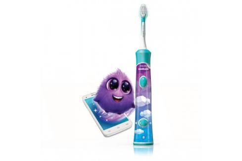 Dětský elektrický zubní kartáček Philips Sonicare HX6321/04 Heureka.cz | Bílé zboží | Malé spotřebiče | Péče o tělo | Elektrické zubní kartáčky