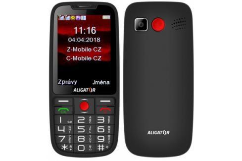 Tlačítkový telefon pro seniory Aligator A890, černá Heureka.cz | Elektronika | Mobily, GPS | Mobilní telefony