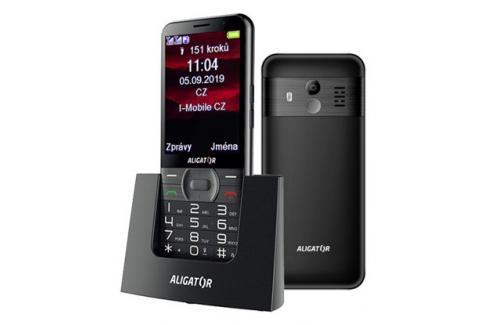 Tlačítkový telefon pro seniory Aligator A900, černá Heureka.cz | Elektronika | Mobily, GPS | Mobilní telefony