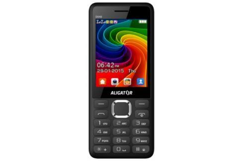 Tlačítkový telefon Aligator D940 DS, černá Heureka.cz | Elektronika | Mobily, GPS | Mobilní telefony
