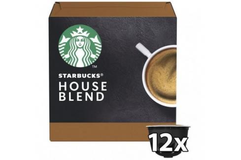 Kapsle STARBUCKS Medium House Blend Nescafé DGSTARBHOUSEB,12ks Heureka.cz   Jídlo a nápoje   Nápoje   Nealkoholické nápoje   Kávové kapsle