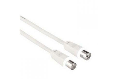 Hama 42964 anténní kabel 75 dB, bílý, 7,5 m Heureka.cz | Elektronika | Počítače a kancelář | Kabely a konektory | Audio - video kabely