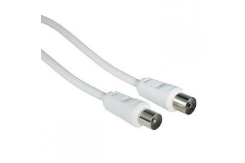 Hama 42966 anténní kabel 75 dB, bílý, 15 m Heureka.cz | Elektronika | Počítače a kancelář | Kabely a konektory | Audio - video kabely