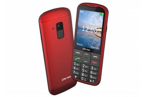 Tlačítkový telefon pro seniory CPA Halo 18, červená Heureka.cz | Elektronika | Mobily, GPS | Mobilní telefony
