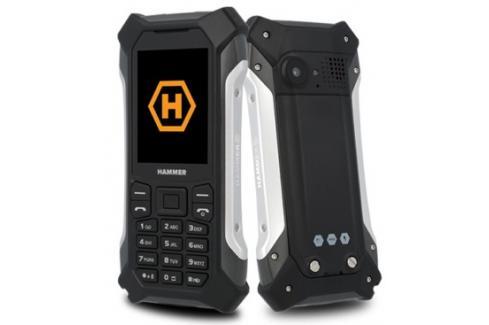 Odolný tlačítkový telefon Hammer Patriot, stříbrná Heureka.cz | Elektronika | Mobily, GPS | Mobilní telefony