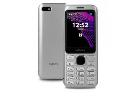 Tlačítkový telefon myPhone Maestro, stříbrná Heureka.cz | Elektronika | Mobily, GPS | Mobilní telefony