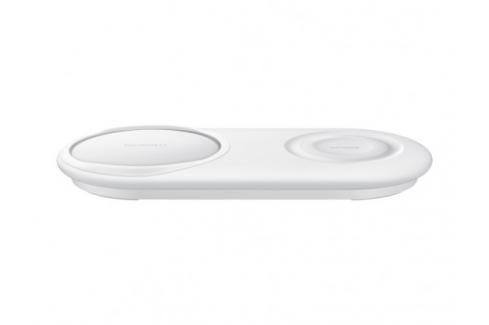 Duální nabíjecí podložka Samsung pro bezdrátové nabíjení, bílá Heureka.cz | Elektronika | Mobily, GPS | Mobilní příslušenství | Nabíječky pro mobilní telefony - originální