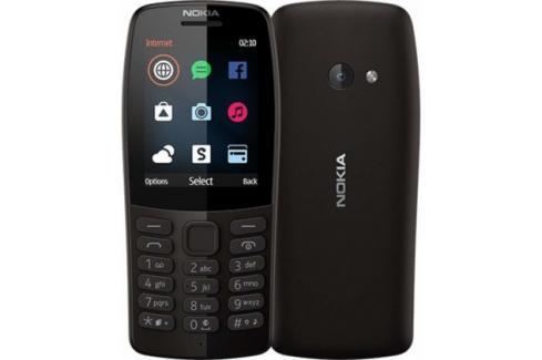 Tlačítkový telefon Nokia 210 DS, černá Heureka.cz | Elektronika | Mobily, GPS | Mobilní telefony