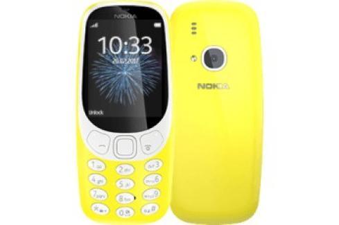 Tlačítkový telefon Nokia 3310 DS, žlutá Heureka.cz | Elektronika | Mobily, GPS | Mobilní telefony
