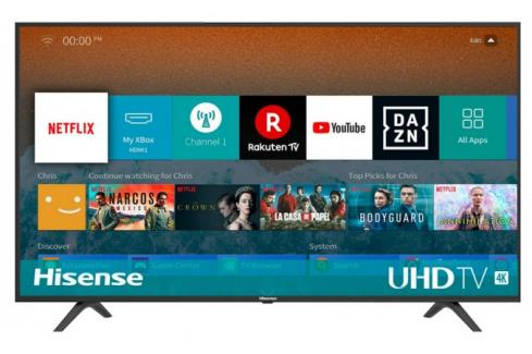 Smart televize Hisense H55BE7000 (2019) / 55