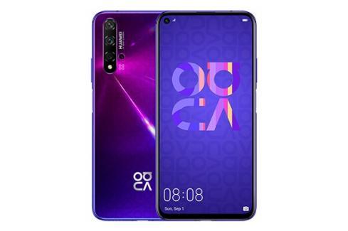 Mobilní telefon Huawei Nova 5T DS 6GB/128 GB, fialová Heureka.cz   Elektronika   Mobily, GPS   Mobilní telefony