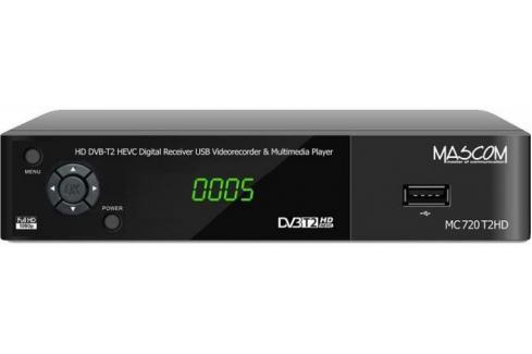 Mascom MC720PLUS Heureka.cz   Elektronika   TV, video, audio   DVB-T/S technika   Set-top boxy