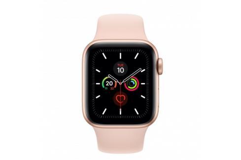 Apple Watch Series 5 GPS, 40mm, zlatá, sportovní řemínek Heureka.cz | Elektronika | Mobily, GPS | Wearables | Chytré hodinky