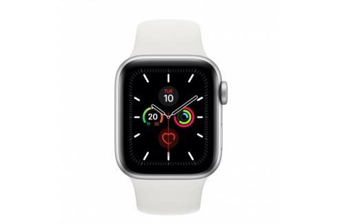 Apple Watch Series 5 GPS, 40mm, stříbrná, sportovní řemínek Heureka.cz   Elektronika   Mobily, GPS   Wearables   Chytré hodinky