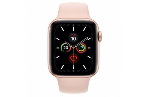 Apple Watch Series 5 GPS, 44mm, zlatá, sportovní řemínek Heureka.cz | Elektronika | Mobily, GPS | Wearables | Chytré hodinky