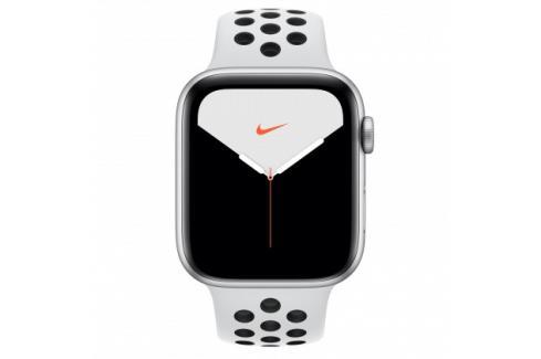 Apple Watch Nike Series 5 GPS, 44mm, stříbrná, sportovní řemínek Heureka.cz   Elektronika   Mobily, GPS   Wearables   Chytré hodinky
