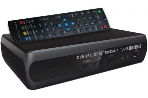 Set-top box New Digital T2 265 HD Heureka.cz | Elektronika | TV, video, audio | DVB-T/S technika | Set-top boxy