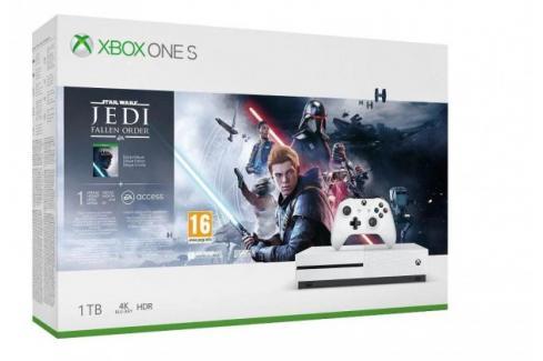 Herní konzole Microsoft XBOX ONE S 1TB + SW Jedi: Fallen Order Heureka.cz | Elektronika | Počítače a kancelář | Herní zařízení | Herní konzole