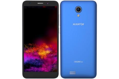 Mobilní telefon ALIGATOR S5520 Duo 1GB/16GB, modrý Heureka.cz | Elektronika | Mobily, GPS | Mobilní telefony