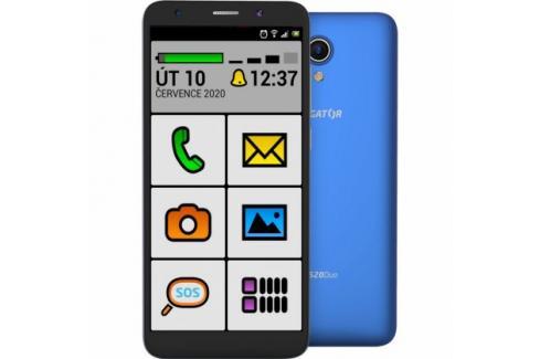Mobilní telefon ALIGATOR S5520 SENIOR 1GB/16GB, modrý Heureka.cz | Elektronika | Mobily, GPS | Mobilní telefony