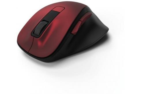 Bezdrátová myš Hama MW 500, tichá, 6 tlačítek, červená Heureka.cz | Elektronika | Počítače a kancelář | Klávesnice a myši | Myši
