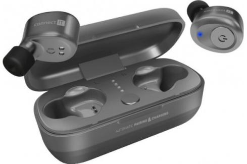 Bezdrátová sluchátka Connect IT CEP-9100-SL, stříbrné Heureka.cz   Elektronika   TV, video, audio   Audio   Sluchátka