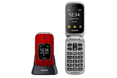 Tlačítkový telefon pro seniory Aligator V650, červená Heureka.cz | Elektronika | Mobily, GPS | Mobilní telefony