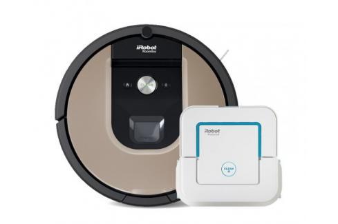 Robotický vysavač iRobot Roomba 976 a mop Braava jet 240 Heureka.cz | Bílé zboží | Malé spotřebiče | Vysavače