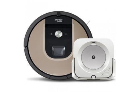 Robotický vysavač iRobot Roomba 976 a mop Braava jet m6 Heureka.cz | Bílé zboží | Malé spotřebiče | Vysavače