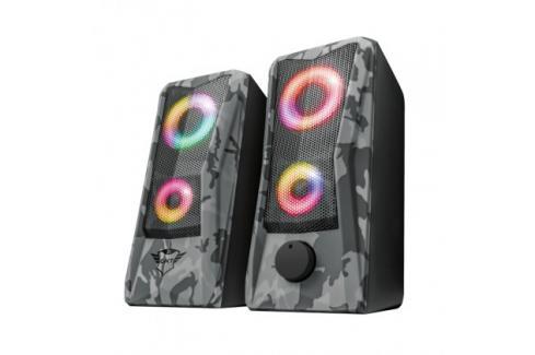 Reproduktory Trust GXT 606 JAVV RGB, 2.0, 12W, maskáčové Heureka.cz | Elektronika | TV, video, audio | Audio | Reprosoustavy a reproduktory