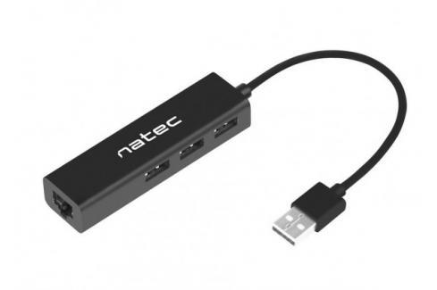 Hub Natec Dragonfly, USB 2.0/3x USB 2.0, RJ45 (LAN, internet) Heureka.cz | Elektronika | Počítače a kancelář | Počítačové komponenty | USB huby