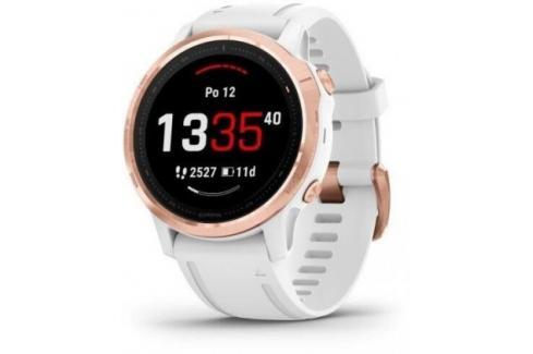 Chytré hodinky Garmin Fenix 6S Pro Glass, bílá/růžová Heureka.cz | Elektronika | Mobily, GPS | Wearables | Chytré hodinky