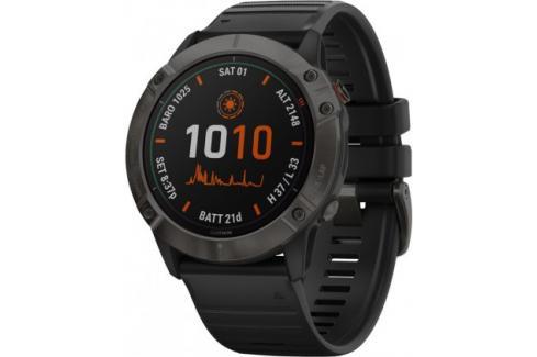Chytré hodinky Garmin Fenix 6X Pro Solar, černá/titan Heureka.cz   Elektronika   Mobily, GPS   Wearables   Chytré hodinky