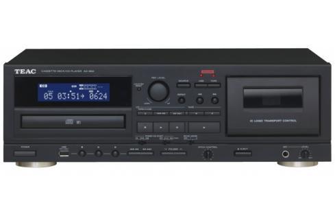Kazetový magnetofon a CD přehrávač s USB TEAC AD-850, černý Heureka.cz | Elektronika | TV, video, audio | Audio | Hi-Fi komponenty | AV přijímače