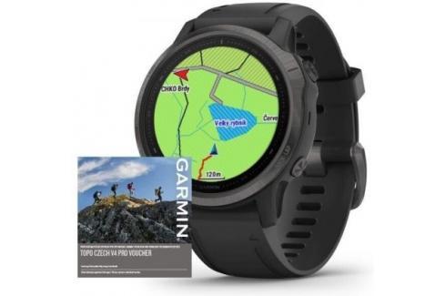 Chytré hodinky Garmin Fenix 6S Pro Sapphire, černá/šedá Heureka.cz | Elektronika | Mobily, GPS | Wearables | Chytré hodinky